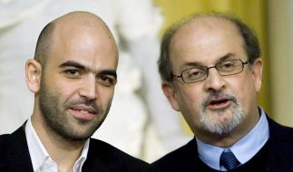 Saviano and Rushdie  (Foto)