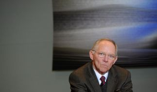 Schäuble bleibt bei Nein zu Eurobonds (Foto)