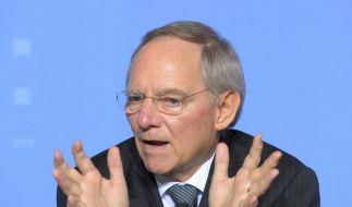 Schäuble droht Griechenland (Foto)