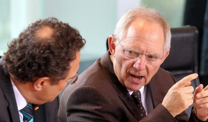 Schäuble könnte neuer Chef der Euro-Gruppe werden (Foto)