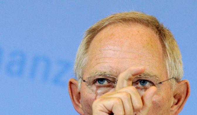 Schäuble gegen «Pumpkapitalismus» - Opposition sieht Luftbuchungen (Foto)