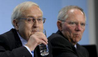 Schäuble und Brüderle (Foto)