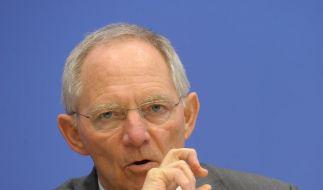 Schäuble verteidigt Euro-Hilfe (Foto)