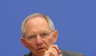 Schäuble will Banken an Griechenland-Rettung beteiligen (Foto)