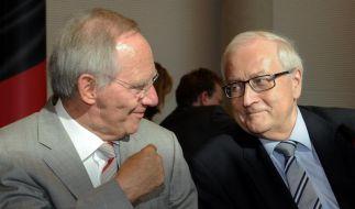 Schäubles Forderung nach mehr Europa spaltet Union (Foto)