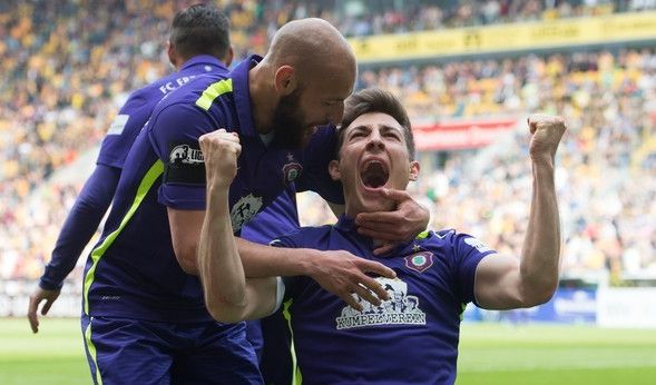 Aue siegt - bittere Niederlage für Rostock! (Foto)