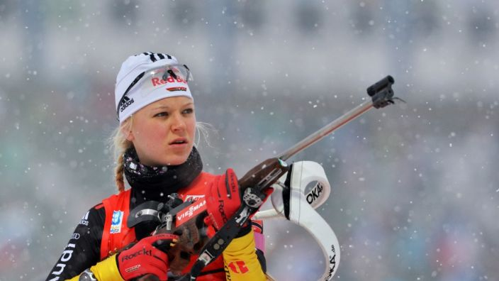 Biathlon Im Live Stream Verfolgung In Antholz Live Im Internet