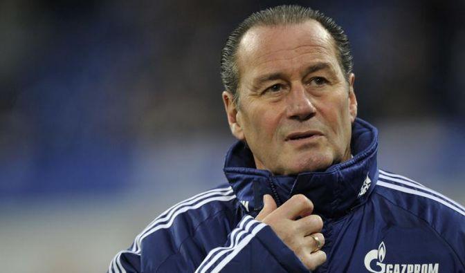 Schalke-Coach Stevens nicht beim Abschlusstraining (Foto)
