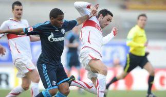 Schalke sauer über Elfmeter bei 0:1 in Stuttgart (Foto)