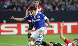 Schalke und Hannover nach Niederlagen vor dem Aus (Foto)