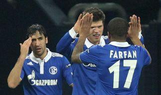 Schalke will Huntelaar, Raúl und Farfán halten (Foto)