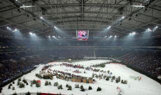Schalker Biathlon-Show - auch ohne Star Neuner (Foto)