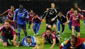 Schalker Pokalsieg (Foto)