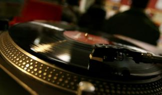 Schallplattenspieler (Foto)