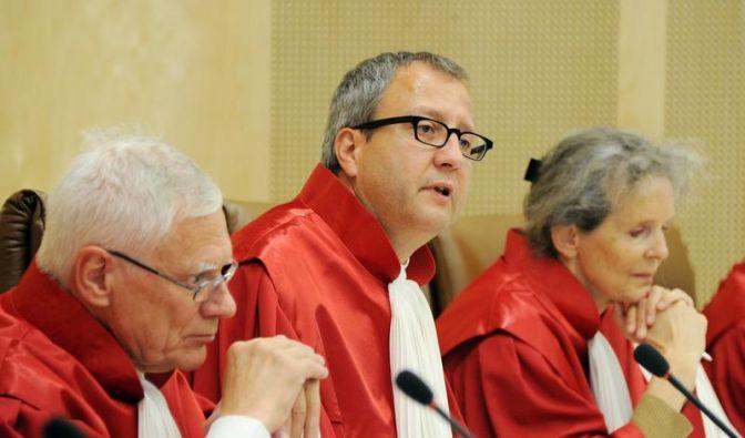 Scharfer Streit um neues Wahlrecht in Karlsruhe (Foto)