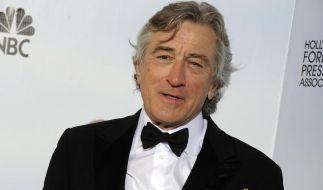 Scharfzüngiger Robert De Niro bei den Golden Globes (Foto)