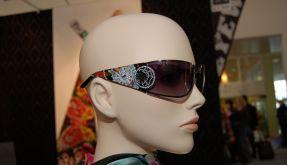 Schaufenster-Sonnenbrille (Foto)