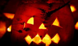 Schaurige Kürbisgesichter verraten es: Halloween steht vor der Tür. (Foto)