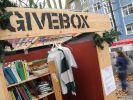 Schenken statt Spenden - «Givebox» erobert die Straßen (Foto)