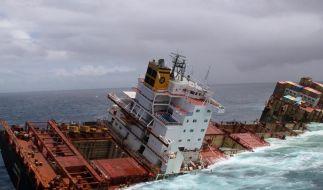 Schiffswrack «Rena»: Neues Öl verschmutzt Strände (Foto)