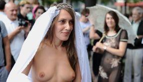 Schlampen protestieren gegen sexuelle Übergriffe (Foto)
