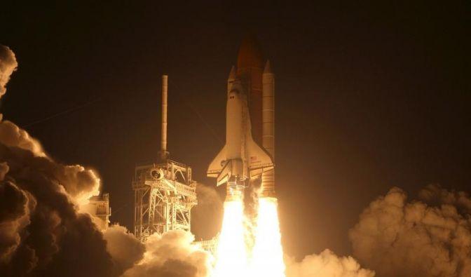 Schlechtes Wetter: Shuttle-Landung verschoben (Foto)