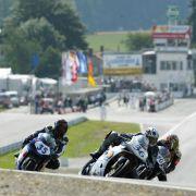 Höhepunkt der Saison auf dem Schleizer Dreieck: das Rennen der Internationalen Deutschen Motorradmeisterschaft.