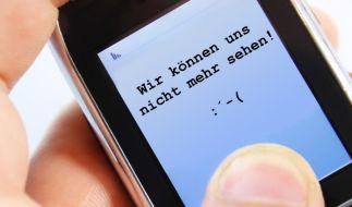 Schluss machen per SMS (Foto)