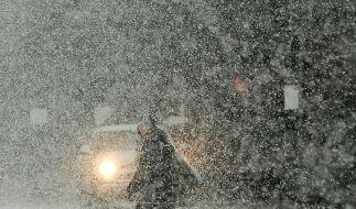 Schnee bremst New York und Obama aus (Foto)