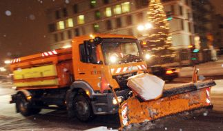 Schnee-Chaos in Deutschland - mal wieder: Auch in Berlin hat es massiven Schneefall in der Nacht zum (Foto)