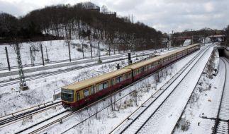 Schnee in Berlin (Foto)