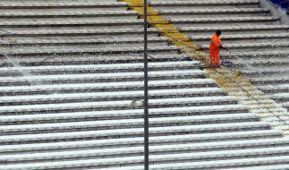 Schnee in Italien: Weitere Spiele abgesagt (Foto)