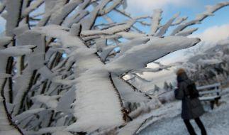 Schnee kann sehr schwer sein, haben die Meteorologen nun errechnet. (Foto)