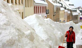 Schnee, Schnee, Schnee. Obwohl er sich in der ganzen Republik derzeit meterhoch türmt: Es gibt jetzt (Foto)