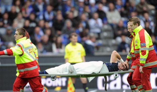 Schock für Hertha: Lasogga erleidet Kreuzbandriss (Foto)
