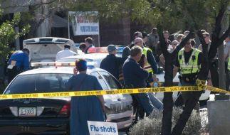 Schock und Zorn nach Anschlag auf US-Politikerin (Foto)