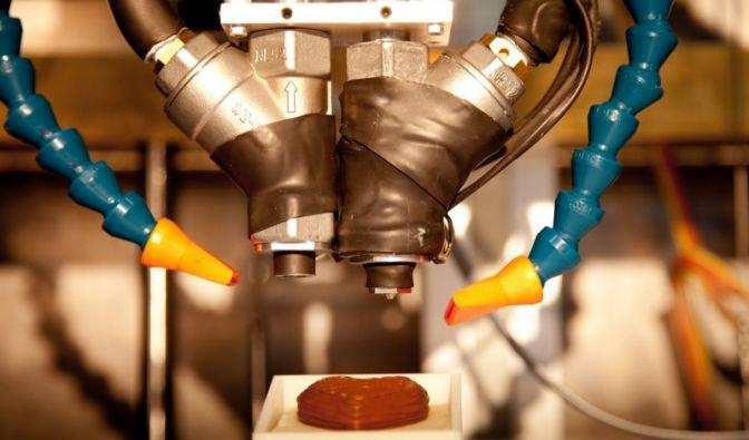 Schokoladendrucker (Foto)