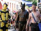 Schrille Parade der Schwulen und Lesben in Berlin. (Foto)