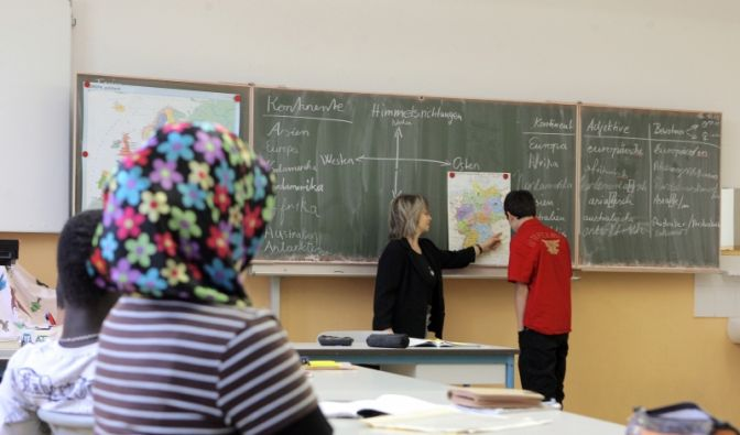 Schüler mit Migrationshintergrund (Foto)