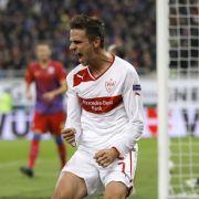 Schützenfest in Bukarest: Auch der VfB Stuttgart kann sich noch für die Zwischenrunde der Europa League qualifizieren.