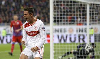 Schützenfest in Bukarest: Auch der VfB Stuttgart kann sich noch für die Zwischenrunde der Europa League qualifizieren. (Foto)