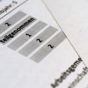 Bayerischer Lehrerverband will Schulnoten abschaffen (Foto)