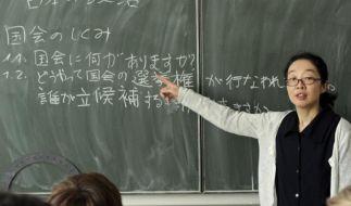 Schule in Japan  (Foto)