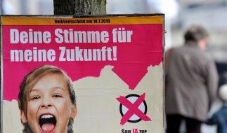 Schulreformgegner gewinnen Volksentscheid (Foto)