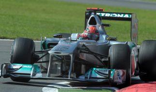 Schumacher: «Brauchen nicht über Sieg reden» (Foto)