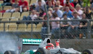 Schumacher erneuert Reifen-Kritik: Wie auf rohen Eiern (Foto)