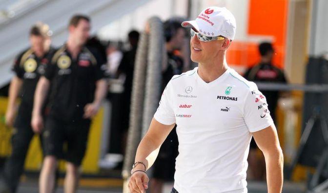 Schumacher gelassen: «Warum sollte ich nicht gewinnen» (Foto)