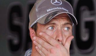 Schumacher und Coulthard in München ausgeschieden (Foto)