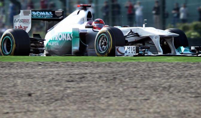 Schumacher wohl nur als Achter in Japan am Start (Foto)