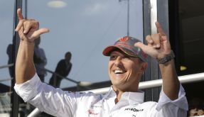 Schumi, der lässige Coolio: Ob es der Rekord-Weltmeister nach der aktiven Rennkarriere ruhig angehen lässt? (Foto)